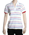 Speedster Custom Knit Polo Shirt  White