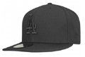 Black on Black LA Dodgers New Era Cap  Black