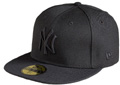 Black on Black NY Yankees New Era Cap  Black