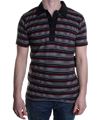 Bleeder SS Knit Polo Shirt  Black