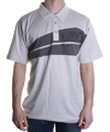 Flight Knit SS Polo Shirt  Silver