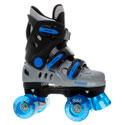 New Phoenix BlueSilver Quad Roller Skates