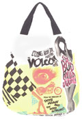 B Movie White Tote Bag