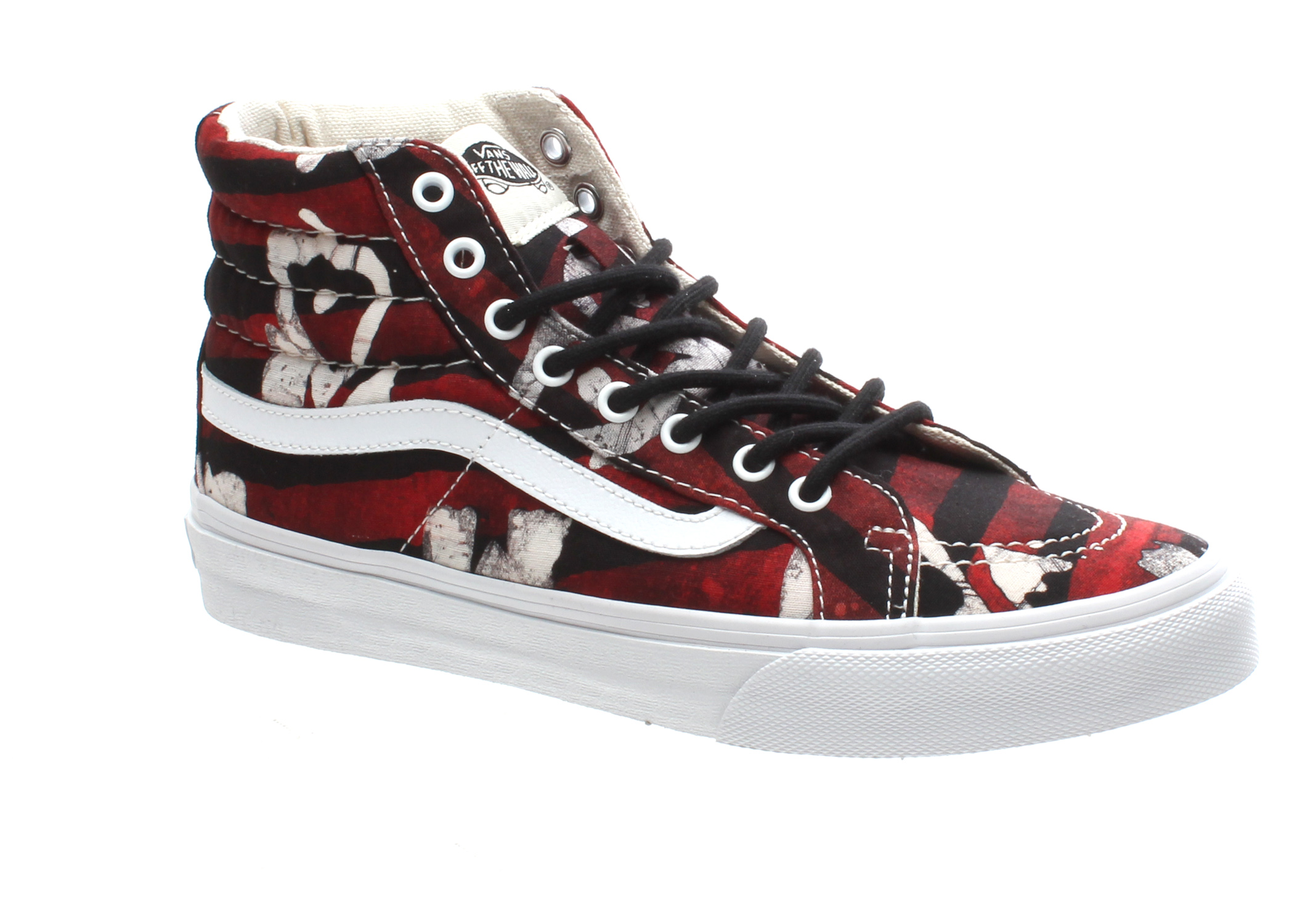 499c123b53 SK8 Hi Slim (Della) Batik Red Shoe QG3AWF. About this 360° viewer  Disable  this menu. 360 by YoFLA